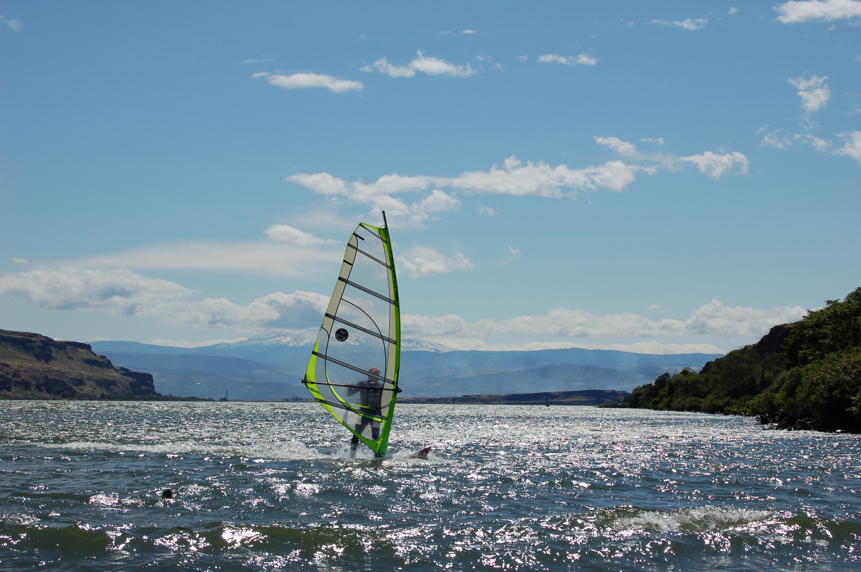 Windsurfer on the Columbia River.