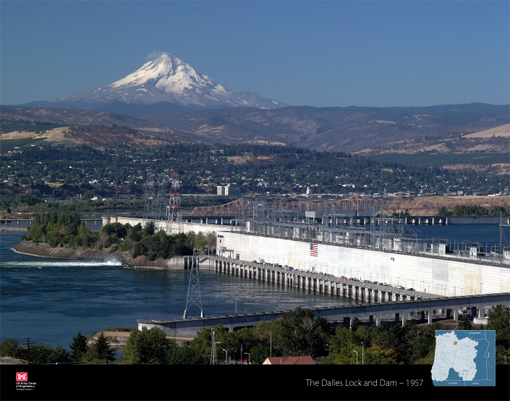 The Dalles Lock and Dam