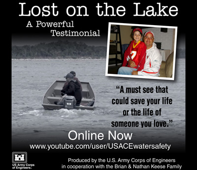 Lost on the Lake: a powerful testimonial
